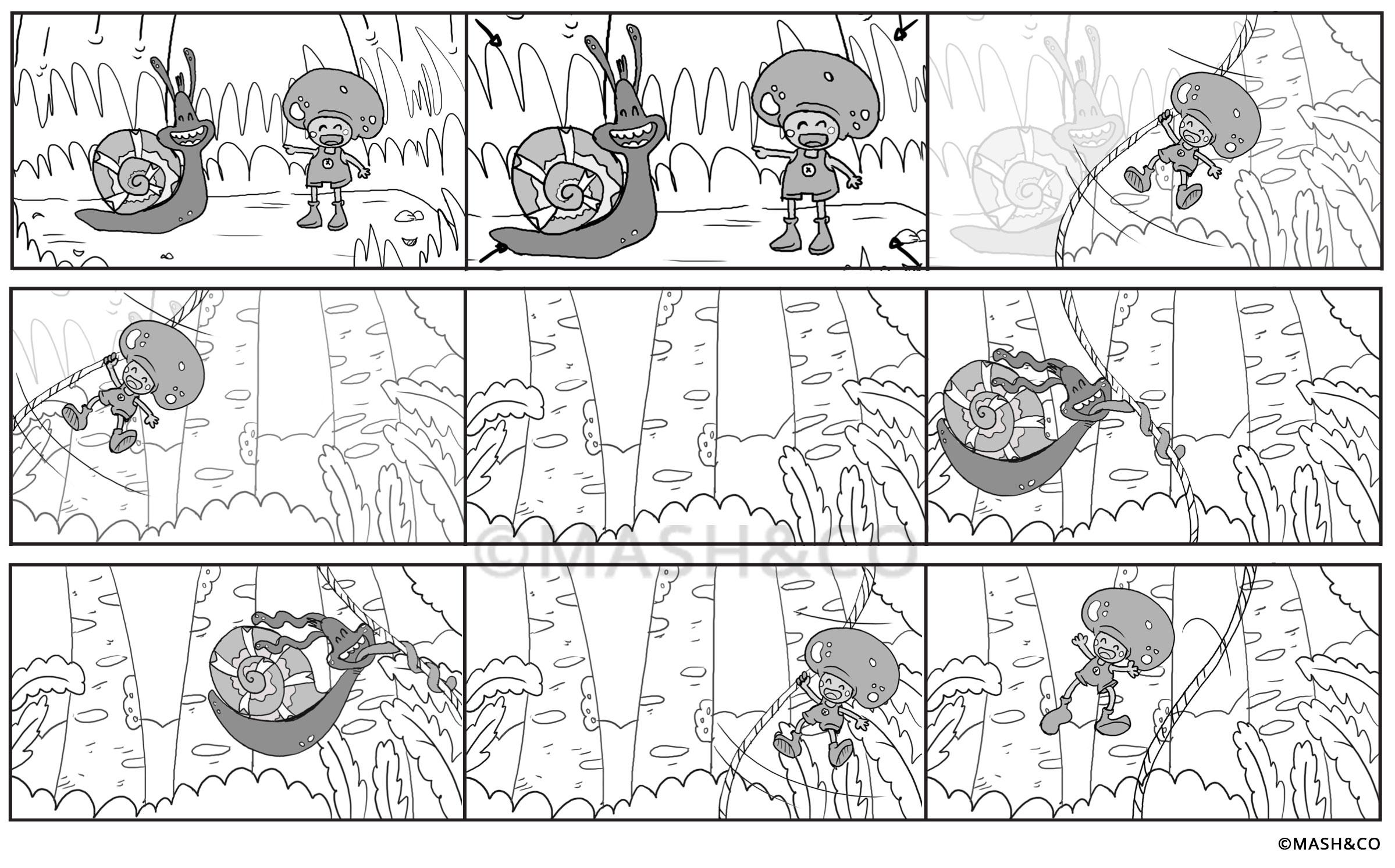Lavori creativi: realizzare un cartone animato – Parte 2
